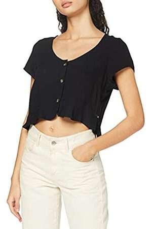 Hurley W Sydney S/S Top T-Shirt, Mujer, Black