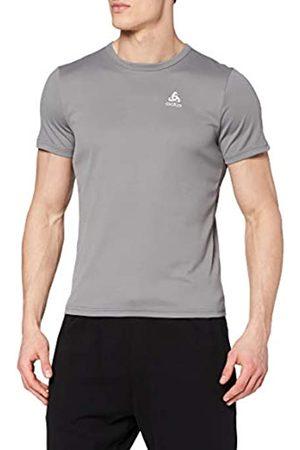 Odlo Camiseta S/S Crew Neck Cardada para Hombre, Hombre, Camiseta, 55036210352XL