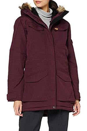 Fjällräven Nuuk Parka W Sport Jacket, Mujer, Dark Garnet