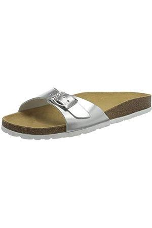 ONLY ONLMADISON Metallic Leather Slip ON, Sandalia Hombre