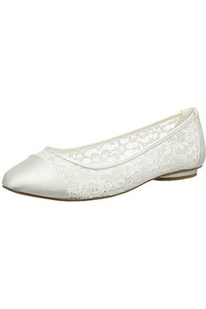 Paradox London Pink Sweetie, Zapatos de Boda Mujer, Marfil (Ivory 275)