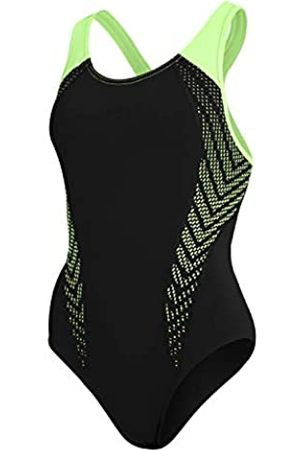 Speedo Placement Laneback One Piece Swimsuit Mujer, Mujer, 811389G026
