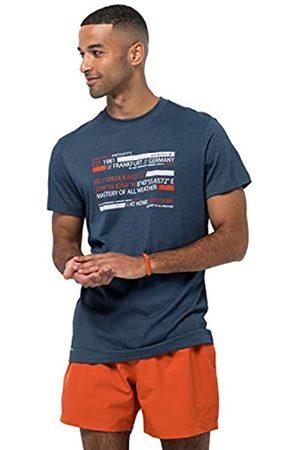 Jack Wolfskin Camiseta para Hombre Established in T M S
