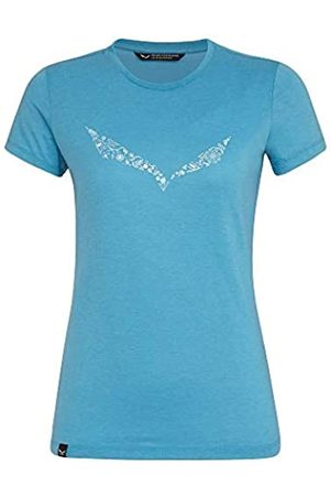 Salewa Solid Dry W S/S tee Camiseta, Mujer