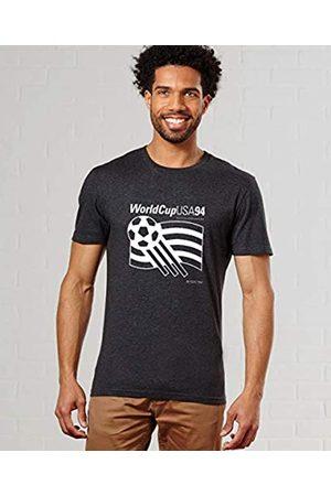 Monsieur USA 94 Camiseta, Hombre, Noir Chiné