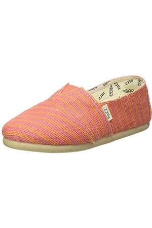 Paez Classic Gum Stripes, Alpargatas Mujer, (Pink 036)