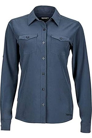 Marmot Wm's Annika Long Sleeve Camisa Outdoor Manga Larga, T-Shirt, Camisa de Senderismo, con protección UV, Transpirable, Mujer