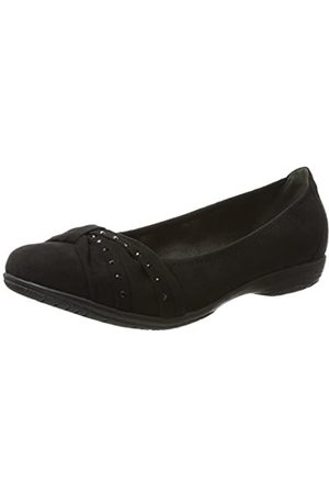 Soft Line 22162, Bailarinas Mujer, (Black)