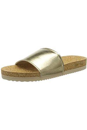 flip*flop Poolcorgi, Sandalia Mujer (Oro)