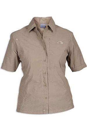 Tatonka Camisa de Mujer Santana Light Brown Talla:36