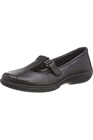 Hotter Nirvana II, Zapatos Planos Mary Jane Mujer, Black