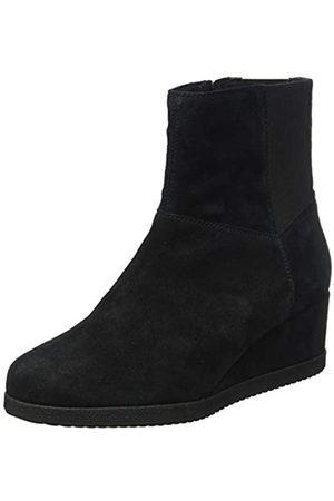 Geox D ANYLLA WEDGE H BLACK Women's Boots Classic size 41(EU)