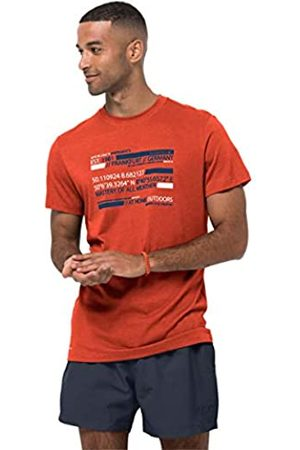 Jack Wolfskin Camiseta para Hombre Established M