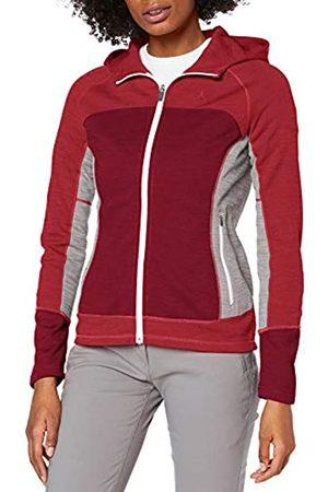 Schöffel Sudadera de forro polar con capucha para mujer Trentino L, transpirable, chaqueta de punto con aspecto deportivo., Mujer, 12392