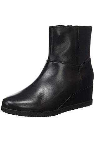 Geox D ANYLLA WEDGE H BLACK Women's Boots Classic size 40(EU)