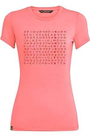 Salewa Crosswords Dri-Rel W S/S Camiseta, Mujer