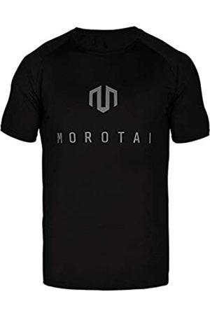 MOROTAI NKMR Performance Corporate T-Shirts Schwarz S Camiseta, Hombre