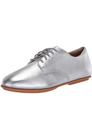 FitFlop ADEOLA Lace UP Derby-Leather, Oxford Mujer