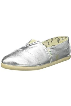 Paez Original Gum Combi Glitter, Alpargatas Mujer, (Silver 011)