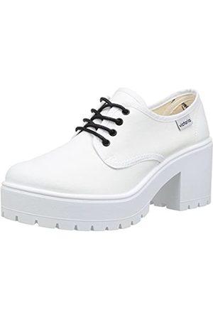 victoria Zapato Lona - Botas de Canvas para Mujer Blanc 40