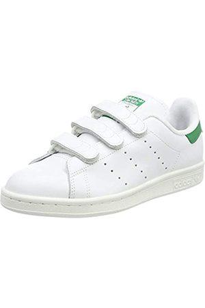 adidas Stan Smith CF, Zapatillas de Gimnasia Hombre, (FTWR White/FTWR White/Green FTWR White/FTWR White/Green)
