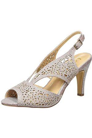 Lotus Amelia, Zapatos de tacón con Punta Abierta Mujer