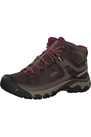 Keen Targhee III Mid WP, Zapatos de High Rise Senderismo Mujer, (Weiss/Boysenberry 0)