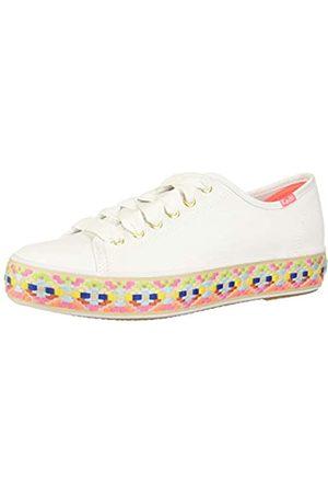 Keds Triple Kick Leather, Zapatillas Mujer, White