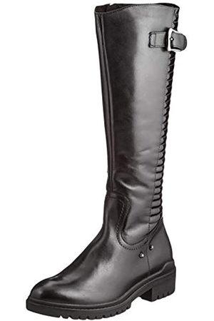 Caprice 9-9-25601-25 053, Botas Altas hasta la Rodilla con caña XS. Mujer, Black/Patent