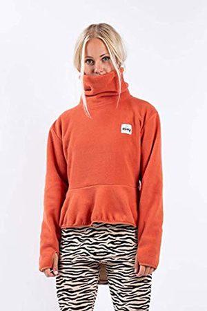Eivy Peg Cropped Frill - Camiseta de Yoga (Forro Polar), Mujer, Camisa de Yoga, 6211-190134-6047