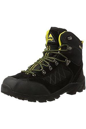 ConWay 607417, Zapatos De High Rise Senderismo Hombre, (Schwarz/Gelb)