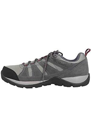 Columbia Redmond V2, Zapatos de Senderismo Impermeables Hombre, , (Monument, Red Jasper)