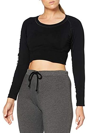 Better Bodies Bowery Cropped LS, Mujer, Black
