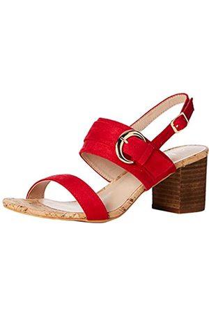 Lotus Almaya, Zapatos de tacón con Punta Abierta Mujer