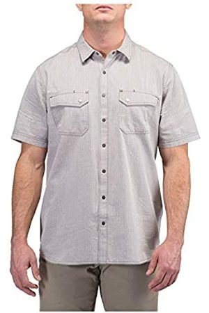 5.11 Tactical Tactical 71375 - Camisa de Manga Corta para Hombre, diseño de Espiga, Hombre, Camisa Herringbone S/S