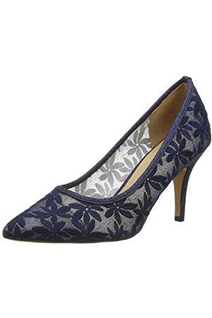 Lotus Bryony, Zapatos de tacón con Punta Cerrada Mujer, (Navy De)