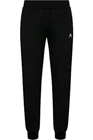Le Coq Sportif ESS Pant Tapered N°1 Pantalón, Hombre, Black