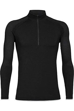 Icebreaker Camisetas térmicas Modelo Mens 200 Zone Seamless LS Half Zip Marca