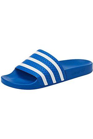 adidas Adilette, Slide Sandal Hombre, Glory Blue/Footwear White/Glory Blue