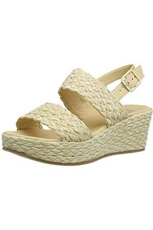 Bensimon Sandale S Compensees, Sandalia con Pulsera Mujer, Marfil (Sable 0110)