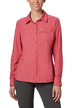 Columbia Silver Ridge 2.0 Camisa De Manga Larga, Mujer, Rouge Pink