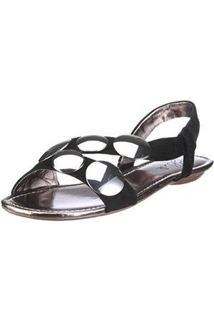 Blink Bowie 37 Utah Black 800760-E1 - Sandalias de Vestir de Ante para Mujer