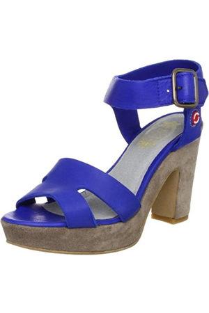 NoBrand Mary, Sandalias con Plataforma Mujer, (Blau (Blue 7046)