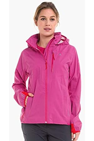 Schöffel Chaqueta para mujer Neufundland4 cortavientos e impermeable con bolsillo para guardar, chaqueta impermeable superligera y flexible, Mujer, 12895