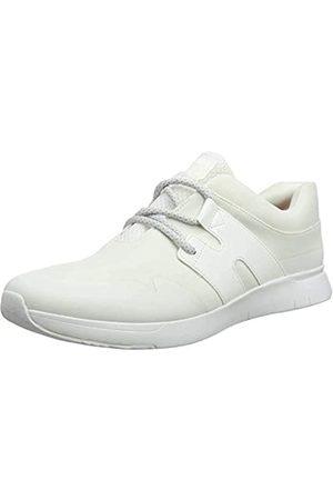FitFlop Mujer Zapatillas deportivas - Anni Flex, Zapatillas sin Cordones Mujer, (Urban White 194)