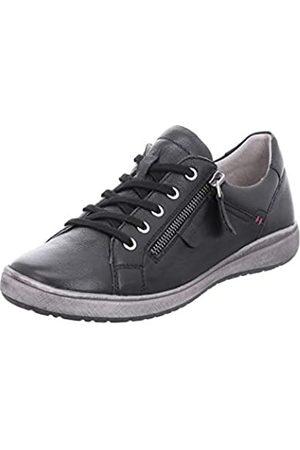 Josef Seibel Mujer Zapatos con Cordones Caren 12, señora Zapatos Deportivos,Calzado de Exterior,Derby cordón,Ocio, (Schwarz)