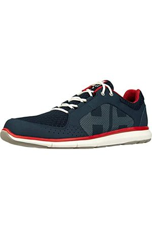 Helly Hansen Sailing and Watersport, Náuticos Hombre, (Navy/Flag Red/Off White)