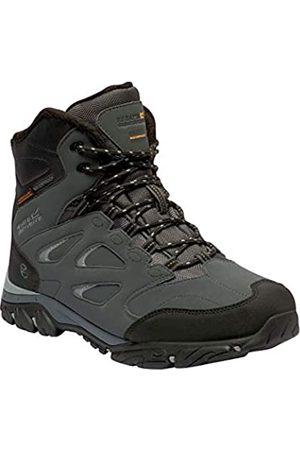 Regatta Holcombe IEP Waterproof Hiking Boot, Botas de Senderismo Hombre, (Briar/Black 21G)