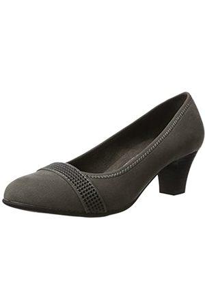 Soft Line 22474, Zapatos de Tacón Mujer, (Graphite)