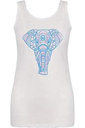 Dare 2B Camiseta de Tirantes para Mujer, diseño de Elefante, Mujer, DWT448 90020L